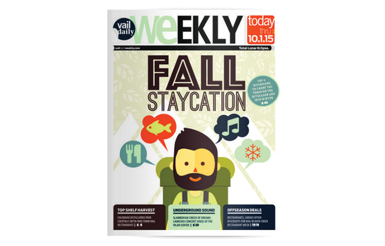 FALL STAYCATION WEEKLY COVER