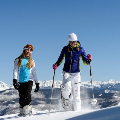 Beaver Creek's Backcountry: McCoy Park is a powder playground for snowshoers