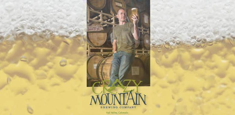 Crazy Mountain Brewery | Courtesy of Vail Valley Magazine