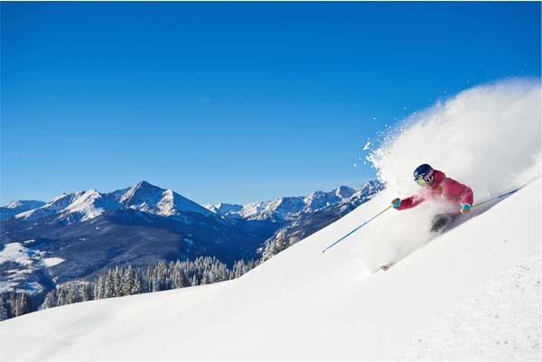 Vail Mountain Photo Courtesy of Lululemon Blog; Vail Solaris Photo Courtesy Lululemon Blog; by Jack Affleck for Vail Resorts;