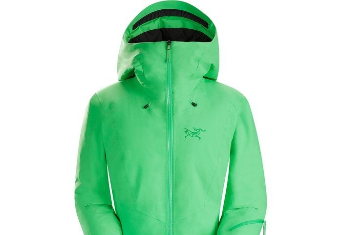 Arc'teryx Lillooet Jacket for Women in Lime Fizz