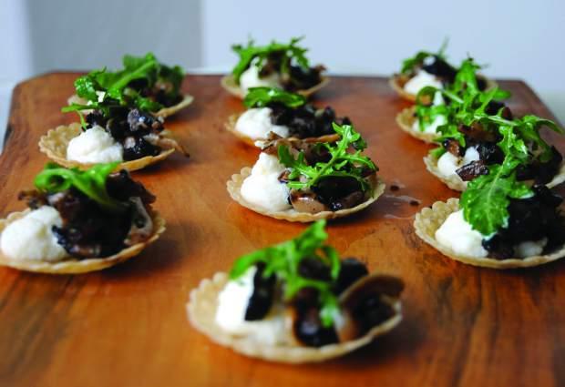 Wild Mushroom Tarts | FOODsmith | Vail Lifestyle Magazine Summer 2016