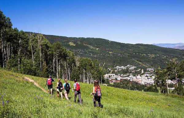 The Beaver Creek Hiking Center expert guides help to design custom hikes based on both desire and ability levels.