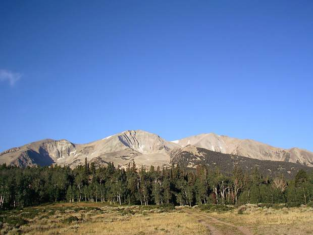 Mount Sopris, with a summit elevation of 12,966 feet, is a 12.6-mile round-trip hike. Many of the non-14ers in Colorado offer more solitude along with scenic views of the Rocky Mountains.