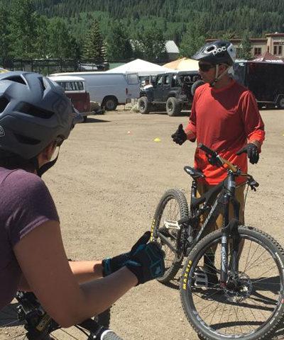 Sharpen Your Mountain Bike Skills