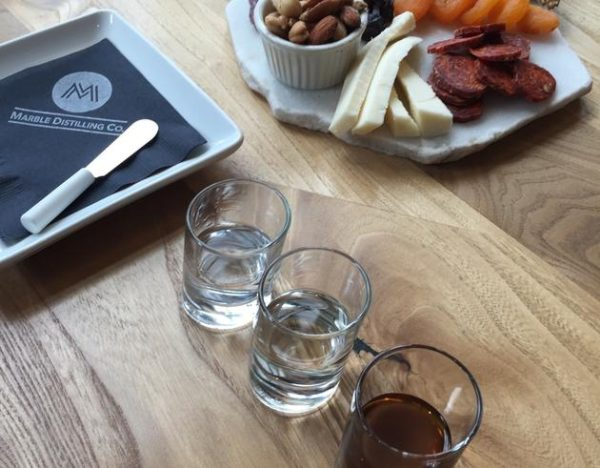 Sip and Stay at Marble Distilling Company in Carbondale