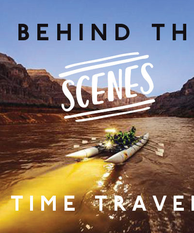 Behind-the-scenes of 'The Time Travelers'