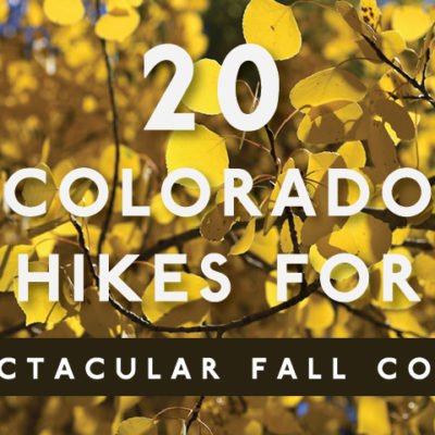 20 Colorado hikes for spectacular fall color