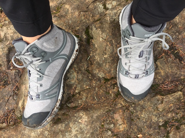 fa43120ceb6d I was grateful to be wearing the waterproof Terradoras during the wet days  in Canada. As expected