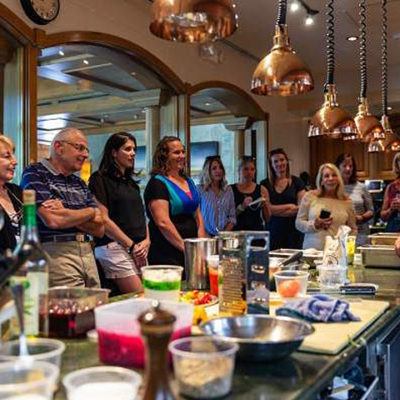 In The Kitchen in Beaver Creek pairs chef demonstrations with wine-paired luncheons